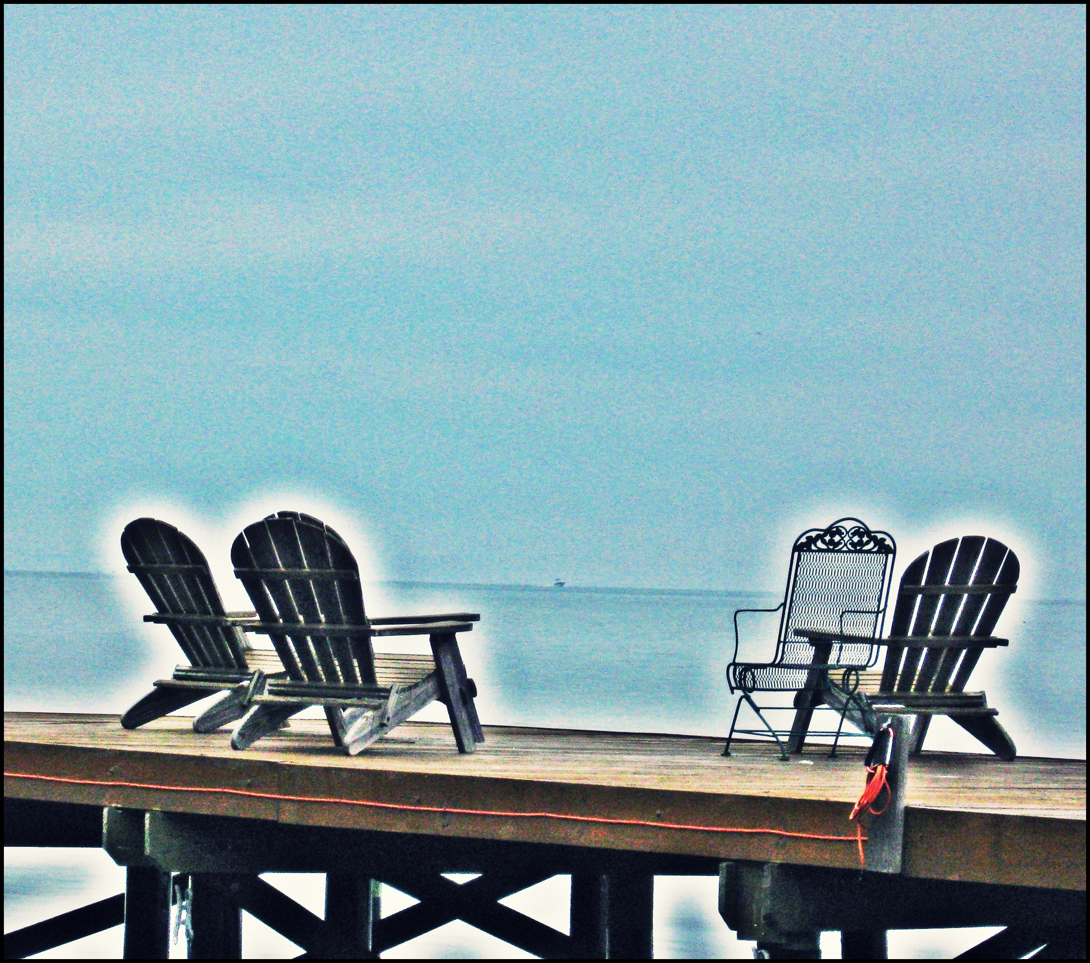 dock chair plans
