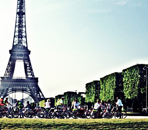 paris bike bike tour