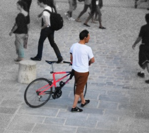 paris bike notre dame